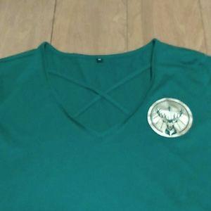 Green Jagermeister Logo Tshirt Sz M